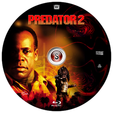 Predator 2 Cover DVD