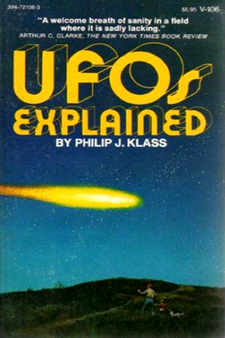 UFOs Explained by Philip J. Klass