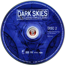 Dark Skies Cover Dvd CD 2