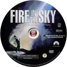Fire in the sky - Bagliori nel buio Cover DVD