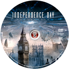 Independence day Resurgence Cover DVD