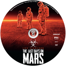 The last days on Mars Cover DVD