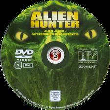 Cacciatore di alieni Cover DVD