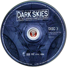 Dark Skies Cover Dvd CD 3