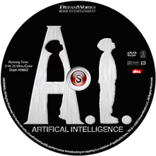 A.I. Intelligenza artificiale Cover DVD