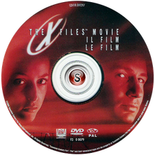 X files Il film Cover DVD