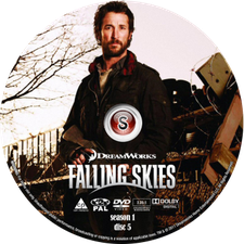 Falling Skies Cover DVD disc 5