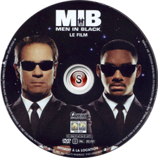 Men in black Cover DVD