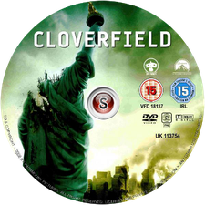 Cloverfield Cover DVD