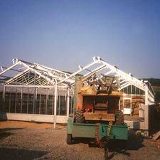 Bau des Topfpflanzenhauses