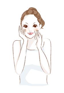 クリームや乳液を直接塗ることは、皮表に膜をつくり、皮膚呼吸を妨げて、化粧品でトラブル (ツッパリ感、小じわ、ニキビの悪化、しみ、かぶれなど)をつくります