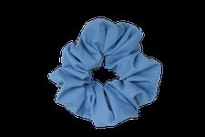 Sustainable scrunchie - light blue