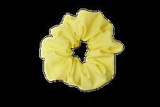 Sustainable scrunchie - yellow