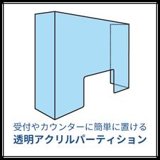商品紹介・アクリルパーテーション