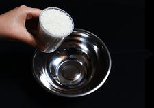 お米の吸水準備1・お米を用意する