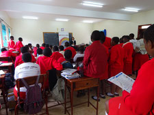 Seminar at Trinity College Nabbingo, Uganda