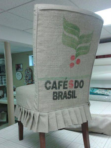 Coffee Sack Chair Cover