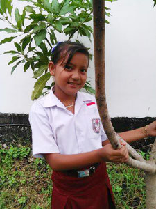 リスマ・チャンティカさん(10歳)   カラバン第4小学校