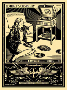 Shepard Fairey C´mon Everybody