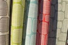 Les papiers peints apportent fraicheur en décoration Déco et matière Miss Print réveillent la décoration déco et matières