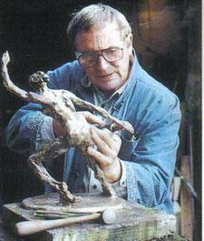 René Rovellotti sculpteur bronze à cire perdue ou séries galerie Espace Pralong