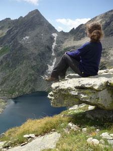 sehr leichter Outdoorpullover getestet in den italienischen Alpen gestrickt von ritsch-ratsch,