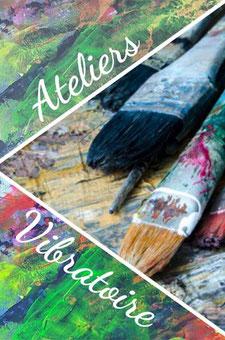 Ateliers de Peinture Vibratoire Intuitive avec patricia gachot - annuaire des therapeutes en touraine - via energetica