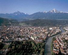 Flight around the Alps