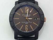 BVLGARI ブルガリ ブルガリブルガリ カーボンゴールド BBP40C11CGLDなど腕時計の買取は埼玉県上尾市の質屋かんてい局上尾駅前店