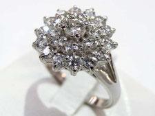 ダイヤリング(メレダイヤモンド)の買取は質屋かんてい局上尾駅前店(金、プラチナは高値でご融資します)