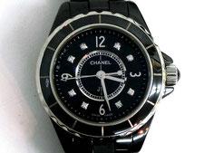CHANEL シャネル J12 H2569 黒 8Pダイヤなど腕時計の買取は埼玉県上尾市の質屋かんてい局上尾駅前店