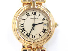 CARTIER カルティエ パンテール ヴァンドームLM K18YGなど腕時計の買取は埼玉県上尾市の質屋かんてい局上尾駅前店