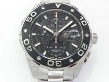 TAG HEUER タグホイヤー アクアレーサー CAJ2110など腕時計の買取は埼玉県上尾市の質屋かんてい局上尾駅前店