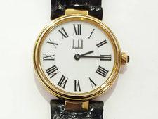 DUNHILL ダンヒル クオーツ時計 シルバー925 白文字盤など腕時計の買取は埼玉県上尾市の質屋かんてい局上尾駅前店