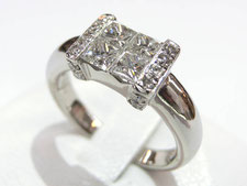 ダイヤの専門鑑定士がいる質屋(上尾市のお客様からダイヤリングを買取)