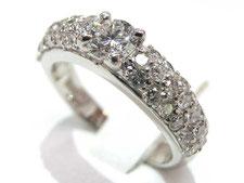 ダイヤ専門の鑑定士が鑑定書がなくても金のダイヤリングを高額買取