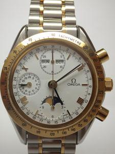 OMEGA オメガ トリプルカレンダー ムーンフェイズなど腕時計の買取は埼玉県上尾市の質屋かんてい局上尾駅前店