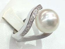 淡水パール 真珠 のリング ネックレスなどのジュエリー買取は埼玉県上尾市の質屋かんてい局上尾駅前店