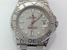 ROLEX(ロレックス)ヨットマスターロレジウムの時計を高額で買取する埼玉県上尾市の質屋かんてい局上尾駅前店