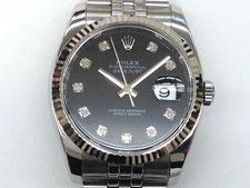 ROLEX ロレックス デイトジャストなど腕時計の買取は埼玉県上尾市の質屋かんてい局上尾駅前店