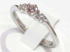 ピンクダイヤリングの宝石買取は質屋かんてい局上尾駅前店(金やプラチナで高額ご融資いたします)