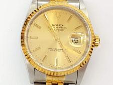 ROLEX ロレックス  デイトジャスト  16233(X番)など腕時計の買取は埼玉県上尾市の質屋かんてい局上尾駅前店
