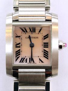 CARTIER カルティエ タンクフランセーズSM W51028Q3の時計買取は埼玉県上尾市の質屋かんてい局上尾駅前店