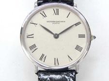 ヴァシュロンコンスタンタンの手巻き時計の買取は埼玉県上尾市の質屋かんてい局上尾駅前店