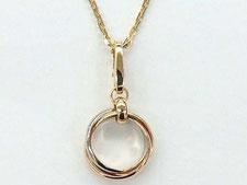 桶川市のお客様から金のネックレスを買取(ダイヤの質預かりも高額査定)