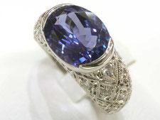 タンザナイトダイヤリングの宝石買取は質屋かんてい局上尾駅前店(金やプラチナで質預かりいたします)