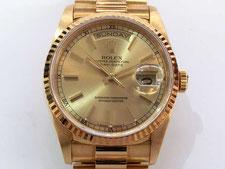 ブランド時計のROLEX(ロレックス)デイデイトを高額で買取する埼玉県上尾市の質屋かんてい局上尾駅前店