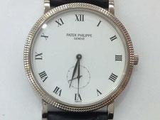 PATEK PHILIPPE(パテックフィリップ)カラトラバの時計を高額で買取する埼玉県上尾市の質屋かんてい局上尾駅前店