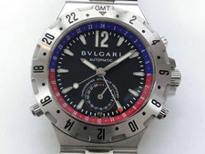 BVLGARI ブルガリ ディアゴノ プロフェッショナル GMT40SSDなど腕時計の買取は埼玉県上尾市の質屋かんてい局上尾駅前店
