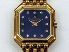 BAUME&MERCIER ボーム&メルシエ クオーツ時計 K18 金無垢など腕時計の買取は埼玉県上尾市の質屋かんてい局上尾駅前店